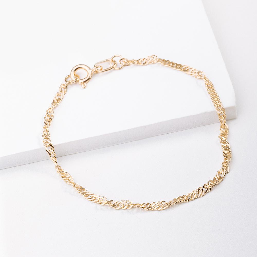 Золотой браслет ХС2703035