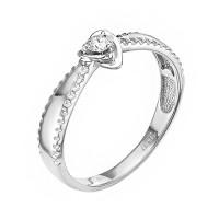 Золотое кольцо с бриллиантом ЛХ01-00966-03-001-01-03