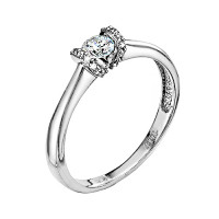 Золотое кольцо с бриллиантами ЛХ01-00989-03-106-01-03