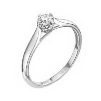 Золотое кольцо с бриллиантом ЛХ01-00969-03-001-01-03