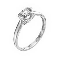 Золотое кольцо с бриллиантами ЛХ01-00918-03-106-01-03