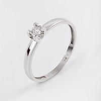 Золотое кольцо с бриллиантом ИМК0237-220