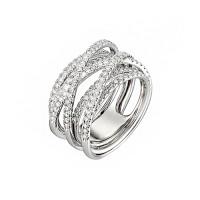 Золотое кольцо с бриллиантами ИМК0427-220