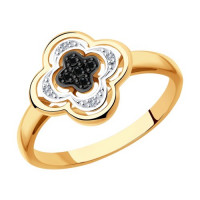 Золотое кольцо с бриллиантами ДИ7010060