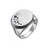 Серебряное кольцо с фианитами ДП1100061С