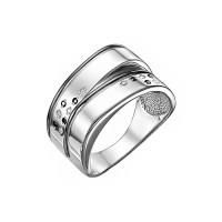 Серебряное кольцо с фианитами ДП119103С
