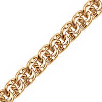 Золотая цепочка 6ВБГ50 плетение Гарибальди