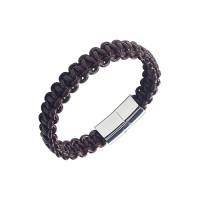 Мужской браслет из натуральной кожи ФСАСБР026БР