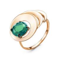 Золотое кольцо с ситалом ДП314792
