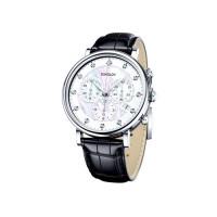 Серебряные часы с фианитами ДИ126.30.00.000.03.01.2