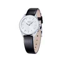 Серебряные часы с фианитами ДИ137.30.00.001.05.01.2