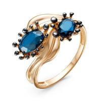 Золотое кольцо с ситалом ДП315170