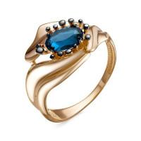 Золотое кольцо с ситалом ДП315171