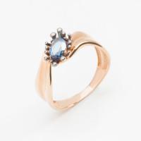 Золотое кольцо с ситалом ДП315172