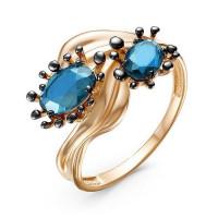 Золотое кольцо с ситалом ДП314935