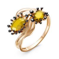 Золотое кольцо с ситалом ДП315167