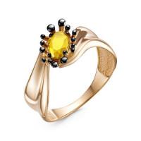 Золотое кольцо с ситалом ДП315169