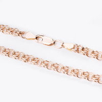 Золотая цепочка ТЗЦПГР00510080 плетение Гарибальди