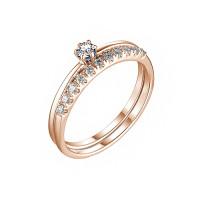Золотое кольцо с бриллиантами ИМК0602-120