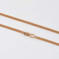 Золотая цепочка ДИ581070452 плетение Гарибальди