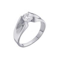 Золотое кольцо с фианитами 7А11749