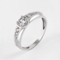 Золотое кольцо с фианитами 7А11747