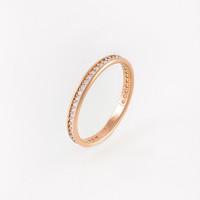 Золотое кольцо с фианитами СН2645