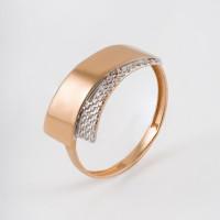Золотое кольцо с фианитами ЮПК13211774
