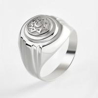 Серебряная печатка 2ИС040615