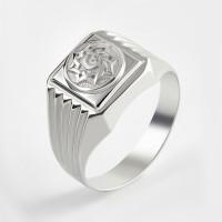 Серебряная печатка 2ИС040614