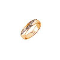 Золотое кольцо обручальное ШЛК-301/1