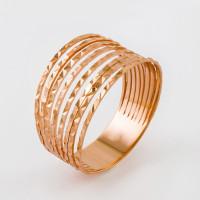 Золотое кольцо 2И210156 без вставок
