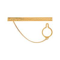 Золотой зажим для галстука 2И01-7014