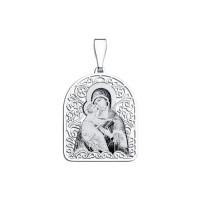 Серебряная иконка ДИ94100133