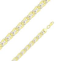 Золотой браслет ДИ050908-2