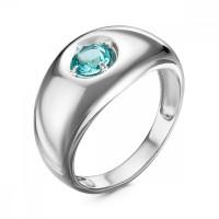 Серебряное кольцо с кварцем плавленым РОК0717Р114