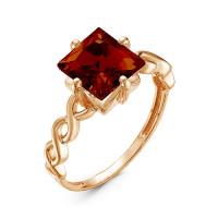 Золотое кольцо с гранатами ЮИК120-3785Гр