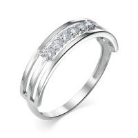 Золотое кольцо с фианитами ЮИК230-3513