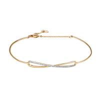 Золотой браслет с бриллиантами ЮИБР112-5262