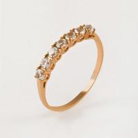 Золотое кольцо с топазами ЮИК120-1515тг