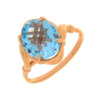 Золотое кольцо с топазами ГС1349128