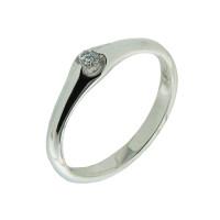 Золотое кольцо с бриллиантом КТЗК-90518-1