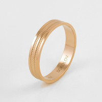 Золотое кольцо обручальное ДИ111201