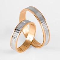 Золотое кольцо обручальное ДИ111202