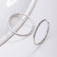 Серебряные серьги конго ДИ94140001