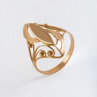 Золотое кольцо 7А11097 без вставок
