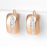 Золотые серьги 7А20977 женские