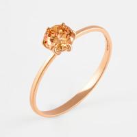 Золотое кольцо с фианитами РЫ1773541
