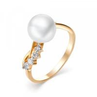 Золотое кольцо с жемчугом ФЖ31303.1