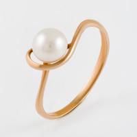 Золотое кольцо с жемчугом ФЖ31514.1